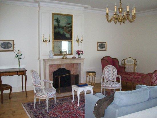 Château du Grand Bouchet : Teil des Zimmers