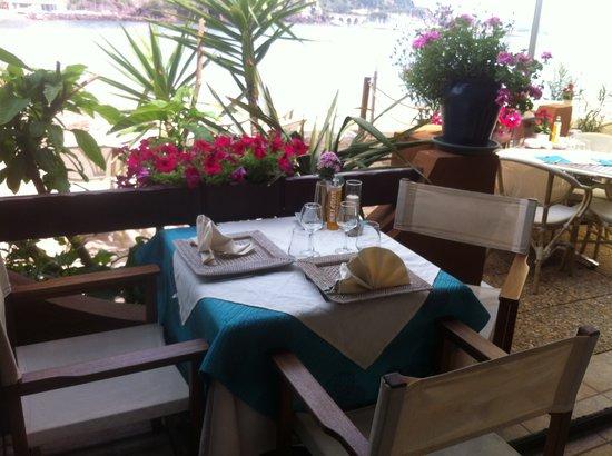 Chez Philippe : vue du restaurant à l'intérieur