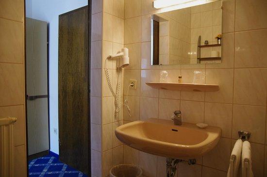 Hotel & Reitsportzentrum Kreuth: Badezimmer