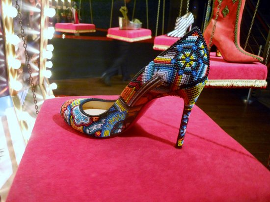Design Exchange: Paillettes, Louboutin Exibit, Toronto