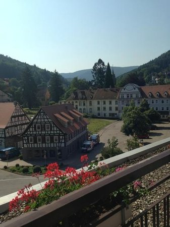 Hotel Harzer: вид на центр города