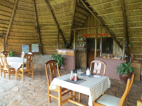 Ngamba Island Tented Camp: main lodge