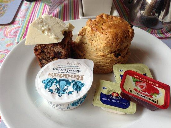 The Darley Mill Centre: mmmm cream scone!