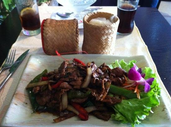 Sawadee: bœuf basilic et épices thaï