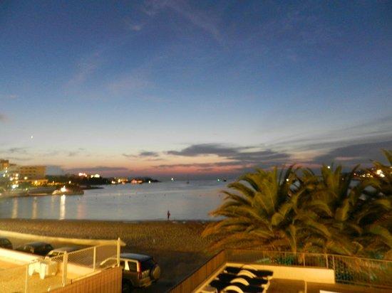 Hotel Tagomago : Vista nocturna desde nuestra terraza