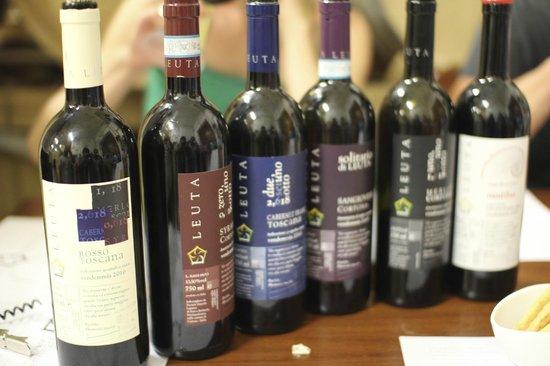 Azienda Agricola Leuta: The wines