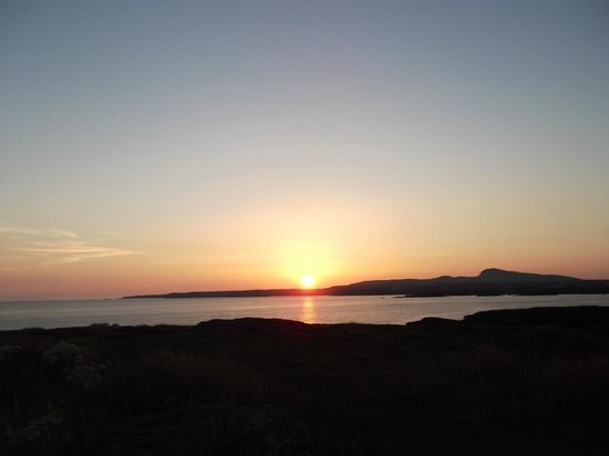 Ingledene : Sunset over Trearddur Bay