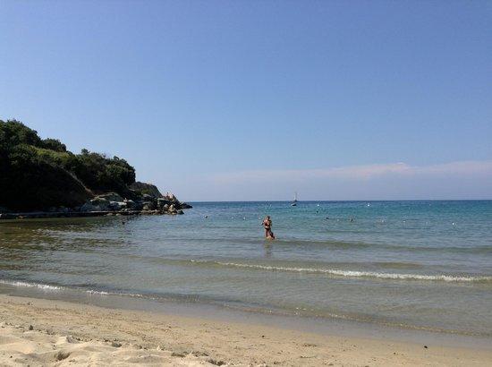 Hotel Desiree : La plage