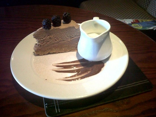 Rose & Crown: Chocolate and Cherry Cheesecake