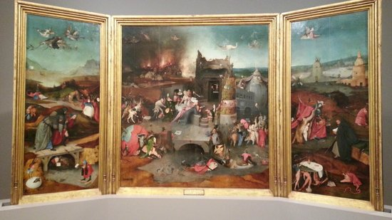 National Museum of Ancient Art: Hieronymus Bosch - Temptation of St. Agustine