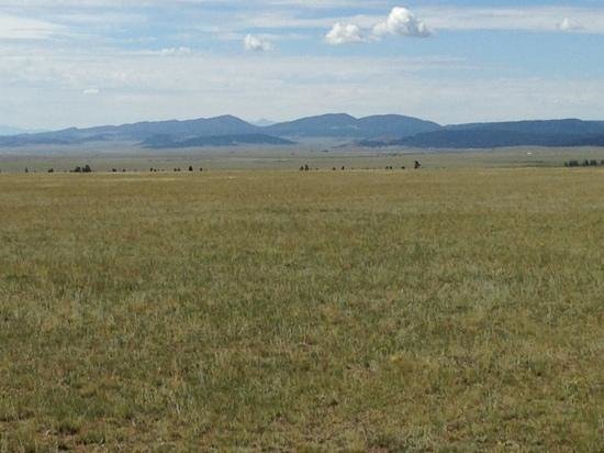 Platte Ranch Riding Stables: beautiful views of mountain range and antelope herd eating