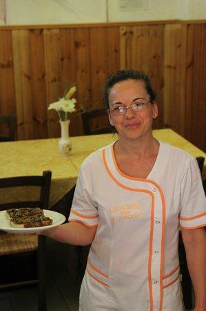 La Locanda con gli Occhi: Simpatia e gentilezza della proprietaria