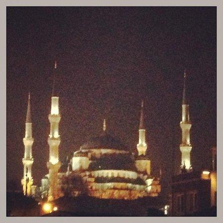 Family Istanbul : Foto da janela do quarto