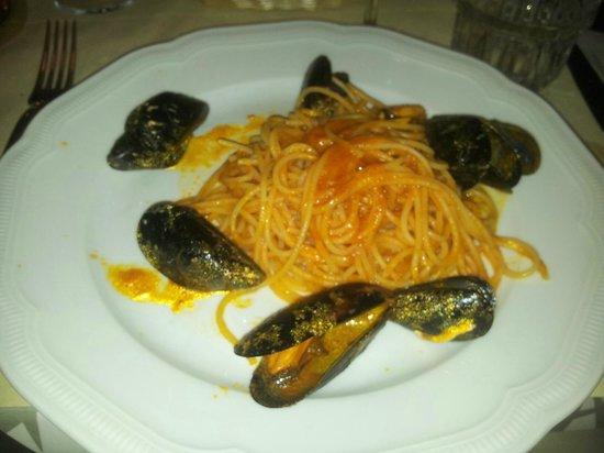 Ristorante Ute: Spaghetti con le cozze