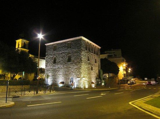 Hôtel les Palmiers : Gebouwen direct rond het hotel