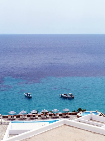 Royal Myconian Resort & Thalasso Spa Center: Sea View