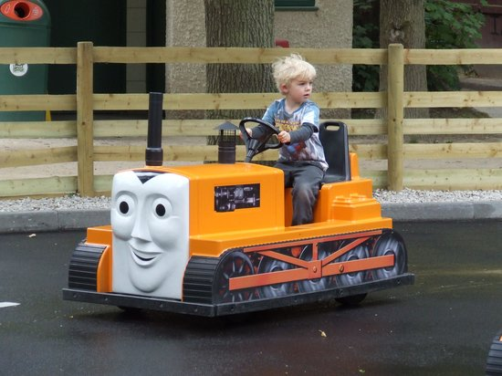 Drayton Manor Park: Drive your own tractor (electric)