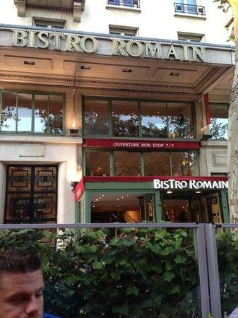 Bistro Romain Cadires: good!