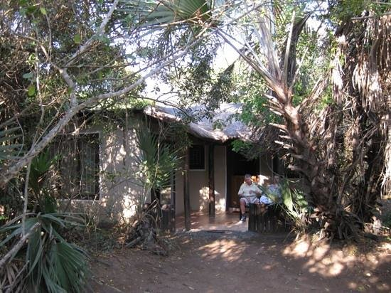 Malala Lodge : Our two-bedroomed chalet.