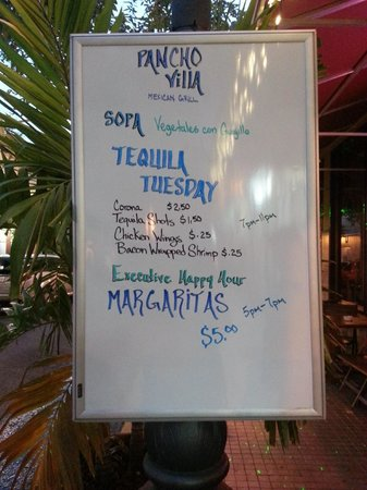Pancho Villa: Tuesday Tequila