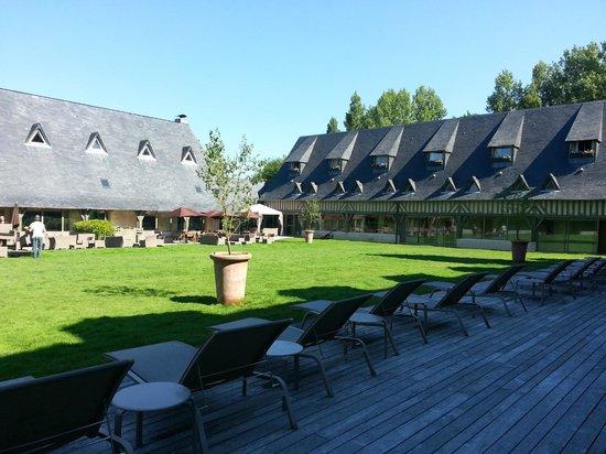 Les Manoirs de Tourgeville: Jardins