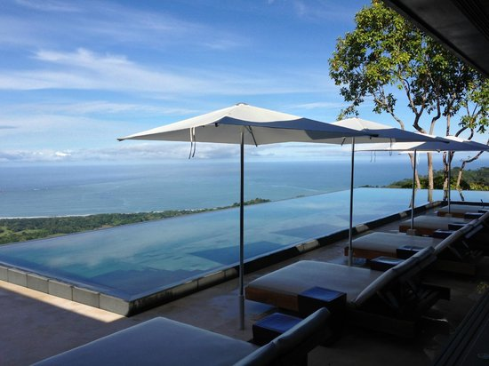 Kura Design Villas Uvita: View from our table at breakfast