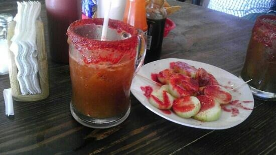 Barbanegra Aguachiles & Beer: Rudita Michelada! has a unique Tamarindo taste.