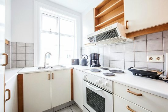 Reykjavik Light Apartments : Kitchen full equipped