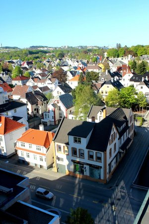 Clarion Hotel Stavanger: View from the 13th floor