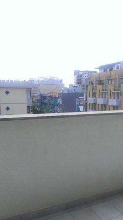 Hotel Pasha: Balkon