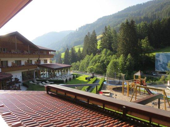 Wellness Sporthotel: Vista balcone camera