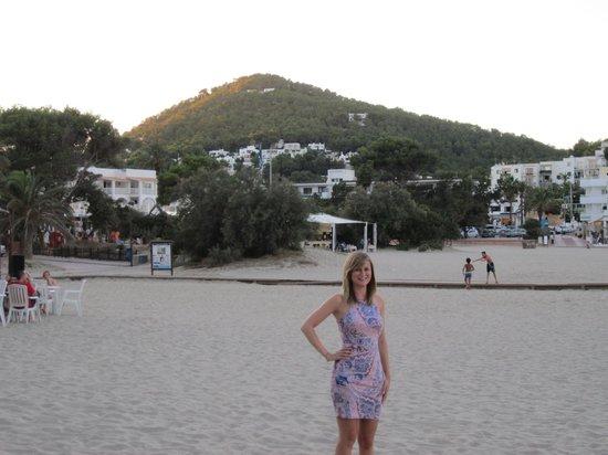 Cala Llonga, Spanje: Beach