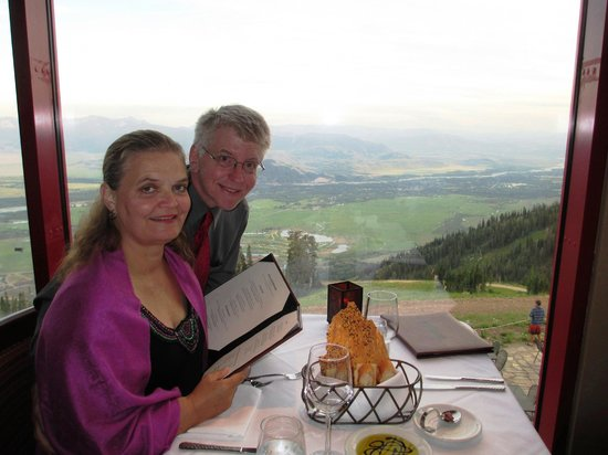 Couloir Restaurant : Dinner and a view at Couloir