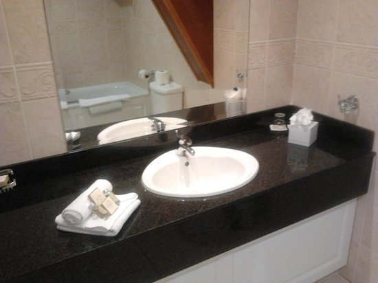 Carrigaline Court Hotel & Leisure Centre: Our bathroom