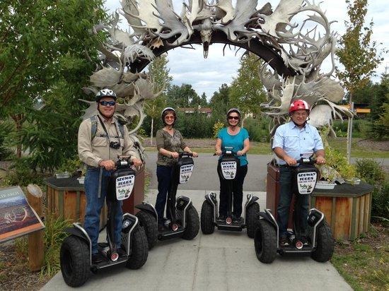 EcoSeg Alaska: Texans on new horses