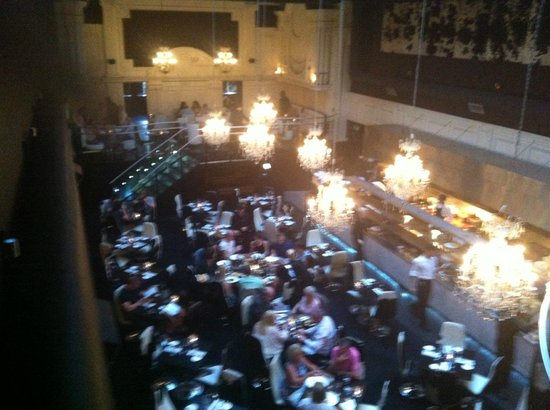 Gaucho Manchester: View from balcony table