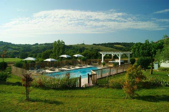 Ferme Elhorga : La piscine