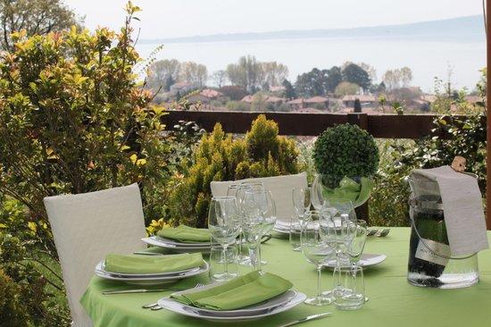 Tovagliato verde - Foto di Ristorante Le Terrazze sul Lago ...