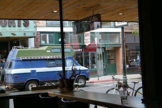 Criollo Latin Kitchen: exterior from interior