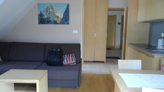 Apartments Bernik: divano letto