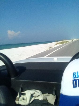 Navarre Beach: Driving thru National Seashore