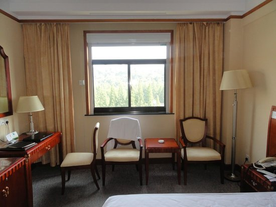 Liu Yuan Hotel: The room