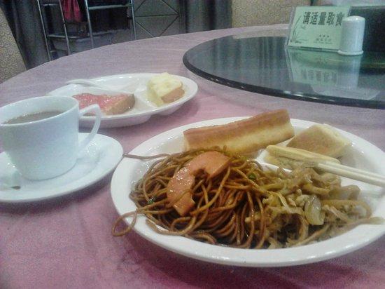Liu Yuan Hotel : Breakfast.
