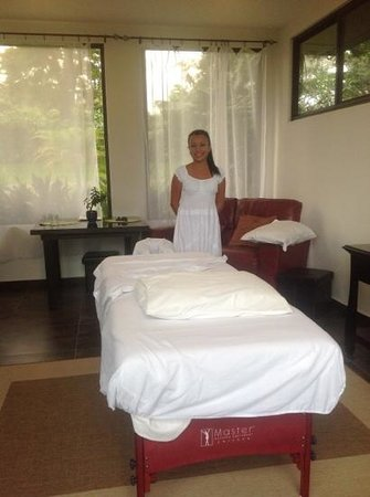The Guest Suites at Manana Madera Coffee Estate: Excellent massage at Manana Madera with Kat