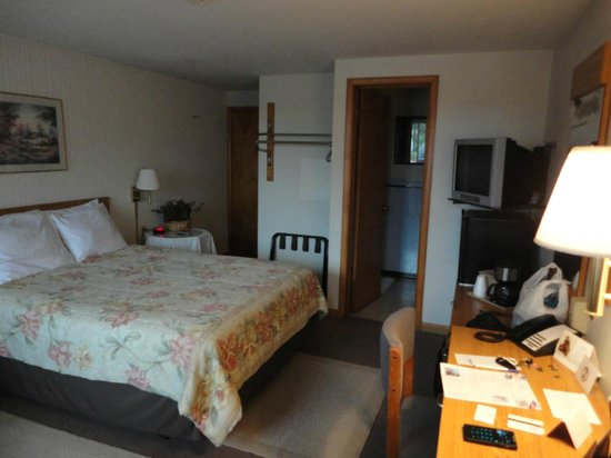 Plaza Motel Bryan: room