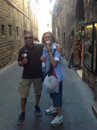 Grand Hotel Assisi: un gelato!!