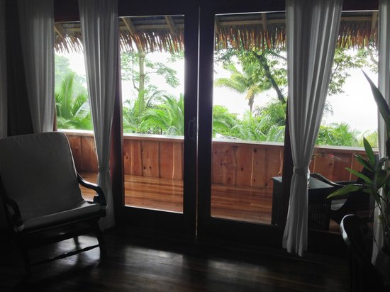 Copa de Arbol Beach and Rainforest Resort: Beautiful ocean view from Balsa Cabin