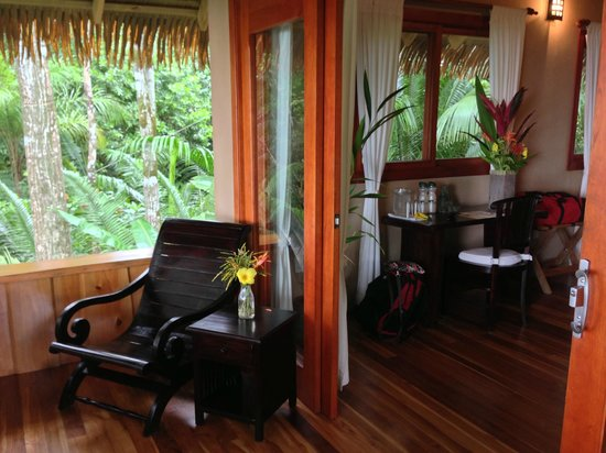 Copa de Arbol Beach and Rainforest Resort: The beautiful Balsa Cabin