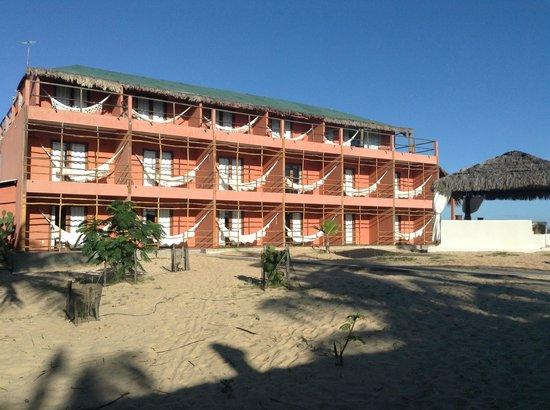 Amagali Pousada: Vista da pousada (apartamentos)