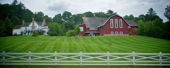 Blackberry Farm: May look like a barn but its the restaurant